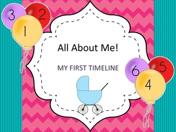 My First Timeline Preschool Pages For Children Up to 6-years-old