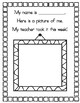 My First Week in First Grade Book