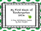 My First Week in Kindergarten 2014