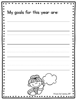 My First Week of First Grade - Guided Writing Book Activity