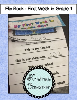 My First Week of Grade One
