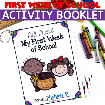 My First Week of School Booklet