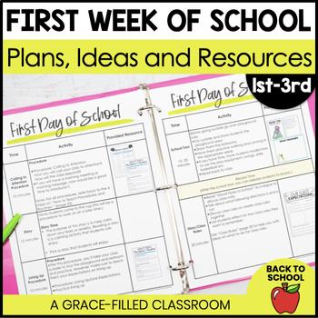 First Week of School: Teacher Plans