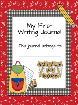 My First  Writing Journal