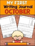 My First Writing Journal - October - Guided Journal Prompts
