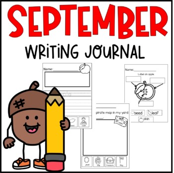 My First Writing Journal- September