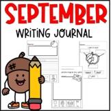 My First Writing Journal- September