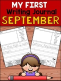 My First Writing Journal - September - Guided Journal Prompts