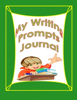 My First Writing Prompts Journal