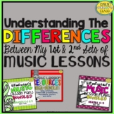 My First and Second Sets of Music Lessons (Understanding t