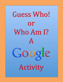 My First or Last Google Project: USING GOOGLE w/ 4th or 5th Grade