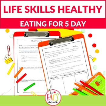 My Five Day Meal Plan