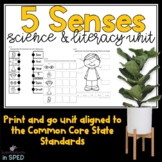 My Five Sense-A Science and Literacy Unit for Special Education