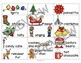 Christmas Question and Answer Sentence Construction Activity- My Five Senses