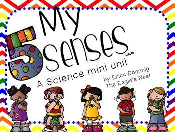 My Five Senses--A Science Mini Unit