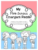 My Five Senses Emergent Reader