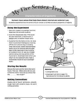 My Five Senses--Feeling (Characteristics of Organisms)