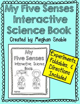 My Five Senses Interactive Science Book!