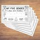 My Five Senses - Likes and Dislikes