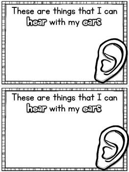 My Five Senses Mini-Book {CCSS Aligned}