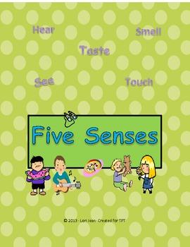 My Five Senses Mini-Pack