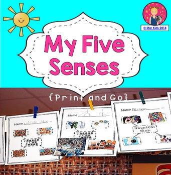 FIVE SENSES MINI UNIT for Kindergarten and First Grade
