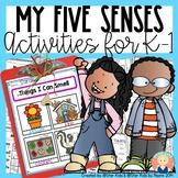 FIVE SENSES MINI UNIT for Kindergarten and First Grade