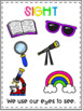 My Five Senses Posters