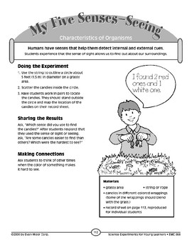 My Five Senses--Seeing (Characteristics of Organisms)