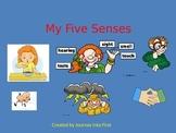 My Five Senses (Unit 2) Journeys Kindergarten Common Core Reading Series