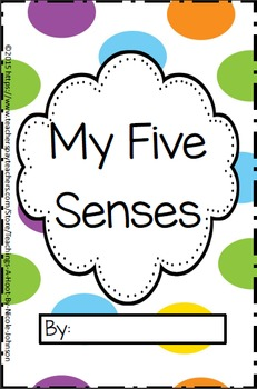 My Five Senses Workbook