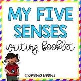 My Five Senses Writing Booklet