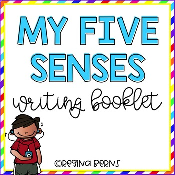 My Five Senses Writing Booklet