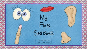 My Five Senses and More! (Sign Language)  (Common Core Aligned)