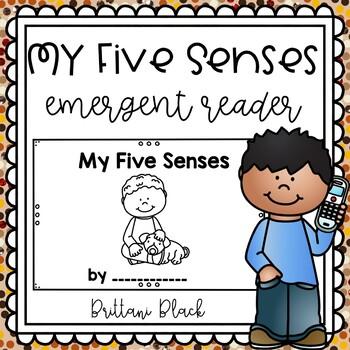My Five Senses- emergent reader
