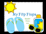 My Flip Flops Poem and Emergent Reader
