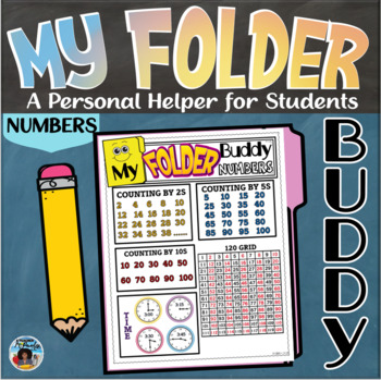 My Folder Buddy-A Personal Helper for Students {Numbers}