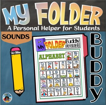 My Folder Buddy-A Personal Helper for Students {Sounds}