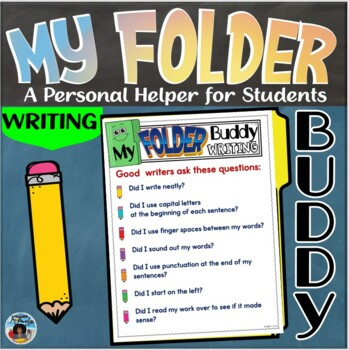 My Folder Buddy-A Personal Helper for Students {Writing}