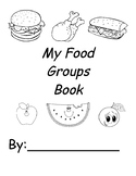 My Food Groups Book.