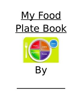 My Food Plate Book
