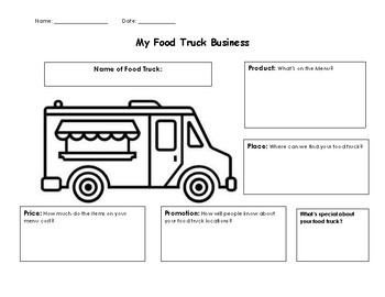 My Food Truck Business