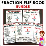 Fraction Activities Flip Book Bundle
