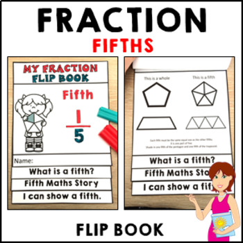 My Fraction Flip Book Fifth Activities Formative Assessmen