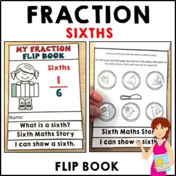 Fractions My Fraction Flip Book Sixths Activities Interactive Activity
