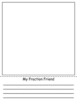 My Fraction Friend Craftivity