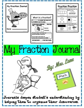My Fraction Journal