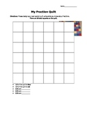 My Fraction Quilt: A Fractions Performance Task