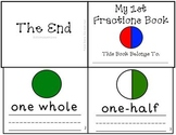 My First Fractions Book Intro to Fractions Mini-Book Whole