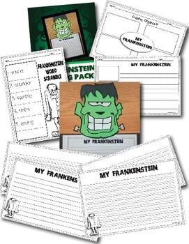 My Frankenstein Craftivity